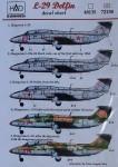 1-72-L-29-Delfin-4x-Hungary-2x-Bulgaria