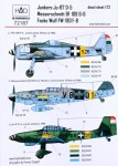 1-72-Decal-Bf-109G-6-Ju-87D-5-FW-190F-8