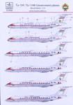 1-72-Decal-Tu-134-Tu-134A-Government-Planes