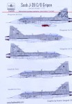1-72-Decal-SAAB-J-39-C-D-Gripen-Tigermeet