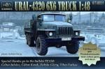 1-48-URAL-4320-6x6-Truck-full-resin-kitPEdecal