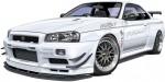 1-24-Mines-BNR34-Skyline-GT-R-02-Nissan