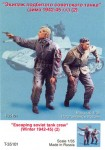 RARE-1-35-Escaping-soviet-tank-crew-Winter-1943-45-Two-figures-SALE