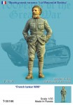 1-35-French-tanker-WWI-one-figure