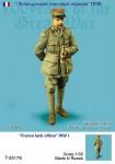 1-35-France-tank-officer-WW-I-ONE-FIGURE