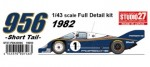 1-43-Porsche-956-Romans-Blue-1982-Short-Tail