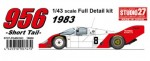 1-43-Porsche-956-Red-White-1983-Short-Tail