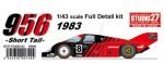 1-43-Porsche-956-ADVAN-1983-Short-Tail