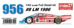 1-43-Porsche-956-Spirits-of-America-1986-Long-Tail