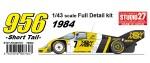 1-43-Porsche-956B-Newman-1984-Short-Tail