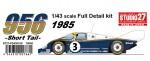 1-43-Porsche-956B-Rothmans-1985-Short-Tail