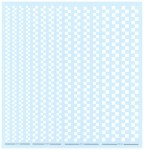 Checkered-Line-Decal-White