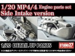1-20-McLaren-MP4-4-Engine-Parts-Set-Side-Intake-Type-for-Tamiya
