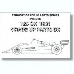 1-20-Ferrari-126CK-1981-Upgrade-Parts-DX-for-Fujimi