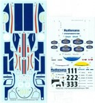 1-43-Porsche-956B-Rothmans-1984-Short-Tail-Spare-Decal