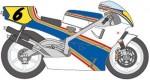 1-12-NSR500-Rothmans-WGP-93-Trans-Kit-for-Tamiya-Reissue