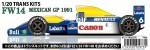 1-20-FW14-MEXICO-GP-1991-Trans-Kit