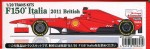 1-20-Ferrari-F150-Italia-British-GP-Trans-Kit-for-Fujimi