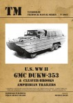 U-S-WW-II-GMC-DUKW-353-and-CLEAVER-BROOKS-Amphibian-Trailers