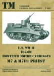U-S-WWII-105mm-Howitzer-Motor-Carriage-M7-and-M7B1-PRIEST