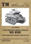 U-S-WWII-75mm-Howitzer-Motor-Carriage-M8-HMC-105mm-Howitzer-Motor-Carriage-T82
