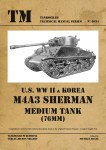 U-S-WW-II-and-Korea-M4A3-Sherman-76mm-Medium-Tank