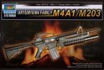 1-3-AR15-M16-M4-Family-M4A1-M203