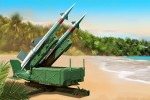 1-35-Soviet-5P71-Launcher-with-5V27-Missile-Pechora-SA-3B-Goa-Rounds-Loaded