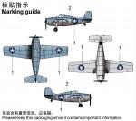 1-350-F4F-4-WILDCATPre-painted-4-pcs