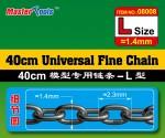 40CM-Universal-Fine-Chain-L-Size-1-4mmX2-3mm-retez
