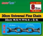 30CM-Universal-Fine-Chain-S-Size-0-6mmX1-0mm-retez