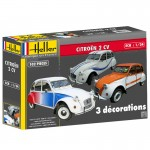 1-24-Citroen-2CV-choice-of-3-Decorations-Special
