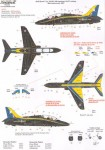 1-32-BAe-Hawk-T-1A-XX285-100-Sqn-90th-Anniversary-2007-with-Yellow-and-Blue-trim