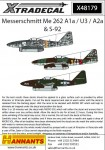1-48-Messerschmitt-Me-262A1a-U3-A2A-S-92-8