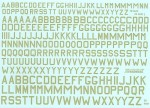 1-72-RAF-WWII-Sky-code-letters-18-24-30-was-Modeldecal-MD051