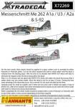 1-72-Messerschmitt-Me-262A-1a-U3-A2A-S-92-12