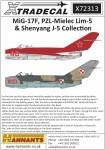 1-72-Mikoyan-MiG-17F-PZL-Mielec-Lim-5-and-Shenyang-J-5-Collection-12