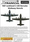 1-72-RAF-Lockheed-C-130-Hercules-Walkway-Stencils-