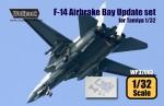 RARE-RARE-1-32-F-14-Airbrake-bay-set