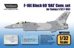 1-32-F-16E-Block-60-UAE-Conversion-set-for-Tamiya