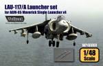 RARE-1-48-LAU-117-A-Maverick-single-Launcher-set-SALE