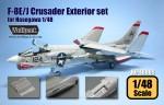 RARE-1-48-F-8E-J-Crusader-Exterior-set
