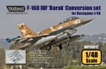RARE-1-48-F-16D-IDF-Barak-Conversion-set-for-Hasegawa