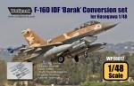 RARE-1-48-F-16D-IDF-Barak-Conversion-set-for-Hasegawa-SALE