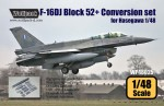 RARE-1-48-F-16D-Block-50-52-Big-Spine-Conv-set-for-Hasegawa