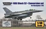 RARE-1-48-F-16D-Block-50-52-Big-Spine-Conv-set-for-Hasegawa-SALE
