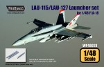 RARE-1-48-LAU-115-LAU-127-Launcher-set-for-F-A-18