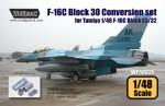RARE-RARE-1-48-F-16C-Block-30-Conversion-set