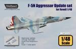 RARE-1-48-F-5N-Tiger-II-Aggressor-Update-set-SALE
