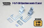 RARE-1-48-F-5-T-38-Ejection-seat-set-2-pcs